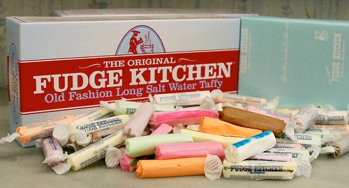 1 pound of Assorted Salt Water Taffy